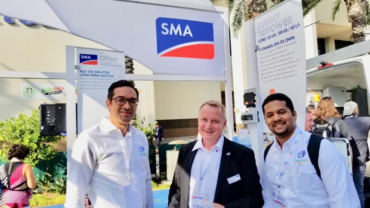 (Español) RENSA participa con su partner SMA en la Feria Anual NORTH AMERICA SMART ENERGY WEEK, Solar Power International.