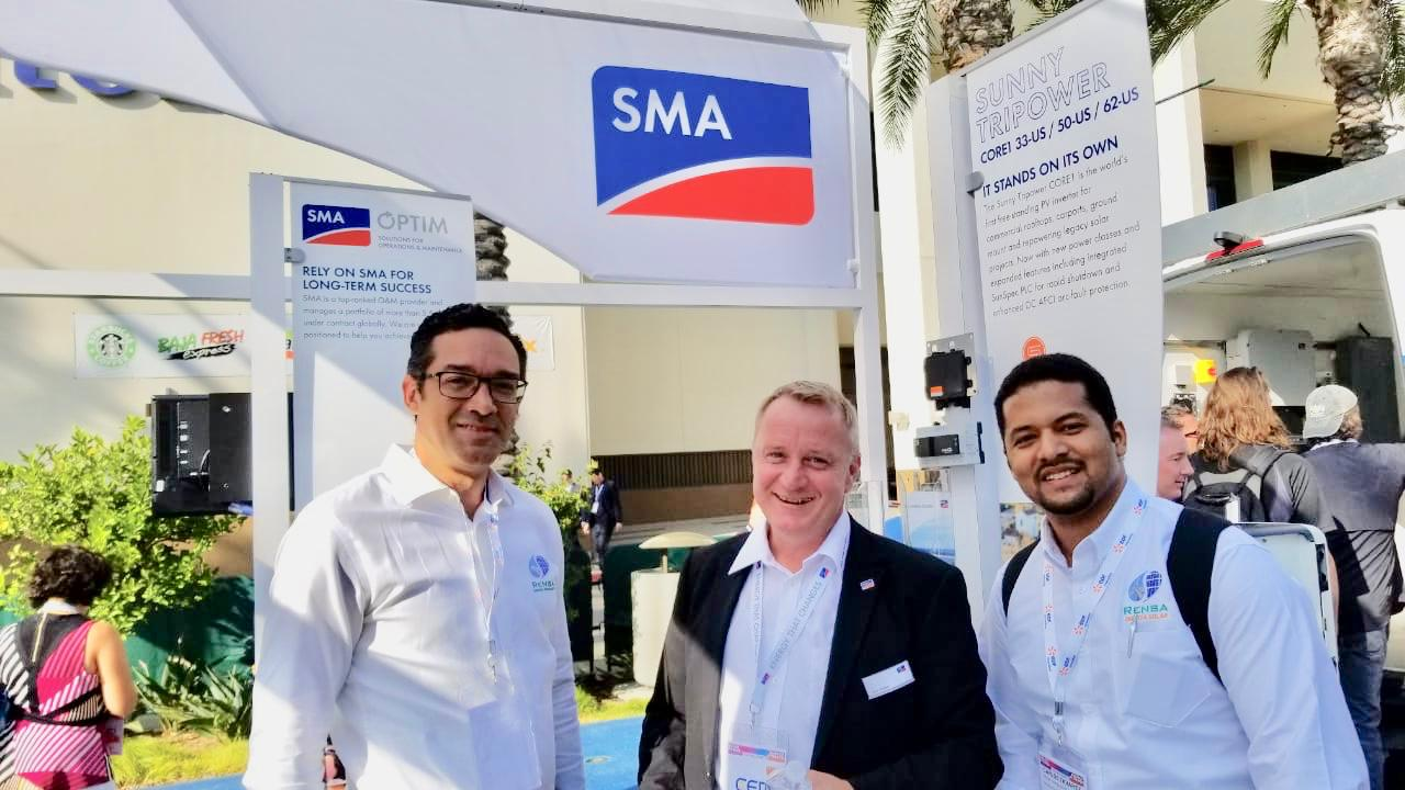 (Español) RENSA participa con su partner SMA en la Feria Anual NORTH AMERICA SMART ENERGY WEEK, Solar Power International.
